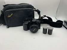 Minolta Maxxum 3xi With Accessories And Carrying Case