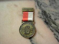 Medaille Gillerbergfest 1974 Für Deinen Sieg RS Siegerland Turngau bronze
