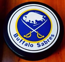 1985-92 BUFFALO SABRES NHL VINTAGE GENERAL TIRE SLUG ZIEGLER TRENCH GAME PUCK