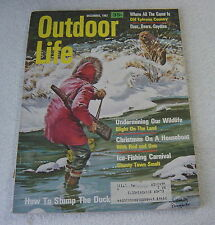 OUTDOOR LIFE December 1967 Baumhofer cover hunting fishing magazine