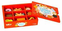 woody treasures Wooden Food For Kids Toy - Wooden Toys Box of Cookies –