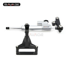 Steering Damper Stabilizer Linear Reverse Safety Kit For Kawasaki Z1000 07-09