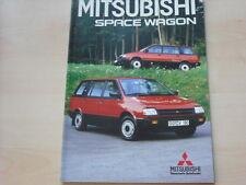52716) Mitsubishi Space Wagon Prospekt 04/1988