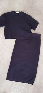 Ladies Sz M-L Veronika Maine knit Skirt & Top