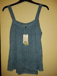 BNWT Size 14 Next Blue Babydoll Top