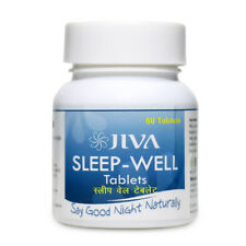 Jiva Ayurveda Sleep - Well 60 Tablets (Pack of 3) Free Shipping