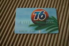 "Vintage UNION OIL ""76"" CREDIT CARD - 70s gas/service/station company/california"