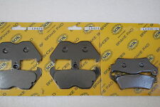 FRONT REAR BRAKE PADS fits BMW R 850, 96-02 R850 R850R 97 98 99 01 R850RT R850GS