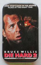 Die Hard 2 Movie Poster Pinback Button Bruce Willis