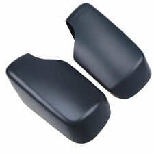 Pair Car Door Wing Mirror Cover Cap Black Casing fit for BMW 3 Series E39 98-05