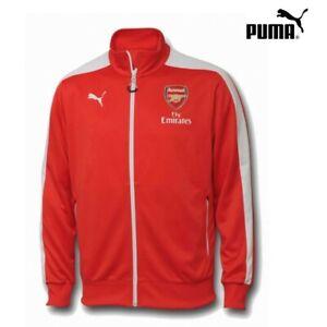 Puma FC Arsenal London T7 Anthem Jacke Jugend 2014/2015 rot/weiß [746581]