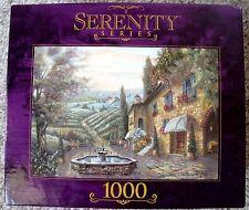 "NIB RoseArt Valente Serenity Series ""Toscana in Pietra"" 1000 Pc Jigsaw Puzzle"