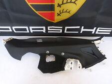 Porsche Panamera 970 CUBIERTA PILAR C CUERO NEGRO TRASERO DERECHA 97055519601