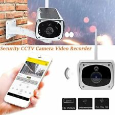 Solar Powered WiFi Wireless 1080P CCTV IP Night Vision Security Camera QC
