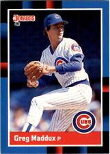 1988 Greg Maddux Donruss Baseball Card #539