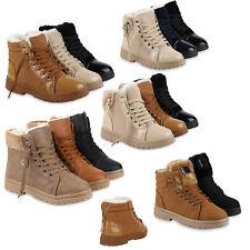 Damen Stiefeletten Winter Boots Warm Gefütterte Outdoor Schuhe 78667 Schuhe