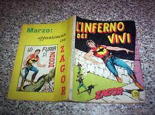 ZAGOR ZENITH N.71 ORIGINALE DEL 1967 OTTIMO TIPO WEST TEX MARK ARALDO RANGER