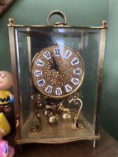 Kundo Kieninger & Obergfell 400 Day Anniversary Clock & Key!For Repair!