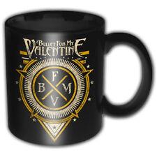 More details for bullet for my valentine bfmv emblem black boxed premium coffee mug cup official
