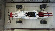 1:18 Carousel 1 Dan Gurney signed Indy 500 race car Lotus 38 Ford 1965 boxs COA