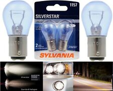 Sylvania Silverstar 1157 26.9/8.3W Two Bulbs Stop Brake Light Upgrade Replace OE