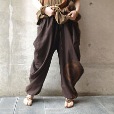 [TiKiTiKe] Hippie style Bohemian Ethnic one size cotton women's Aladdin pants
