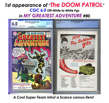 MY GREATEST ADVENTURE # 80 CGC 6.0 Origin & 1st App DOOM PATROL! $615 = CHEAP!
