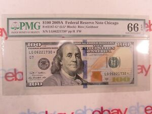 $100 2009A Federal Reserve Star Note