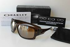 New OAKLEY BIG TACO Polished Rootbeer / Tungsten Iridium Sunglasses gascan radar