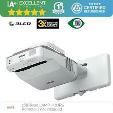 Epson EB-685W Data Projector | 3500 ANSI lumens | 3LCD WXGA | Grade A+