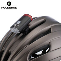 ROCKBROS Cycling Bike Helmet Light Duplex Integrates Both Headlight USB Recharge