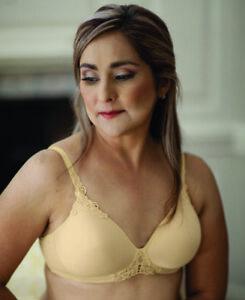 ABC Petite T-Shirt Non Underwired Mastectomy Bra Beige 105