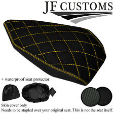 DSG4 YELLOW STITCH CUSTOM FOR DUCATI PANIGALE 899 1199 REAR SEAT COVER + WSP