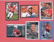 2010-2012 Panini TIM TEBOW Denver Broncos Sticker Lot + Foil + Rookie