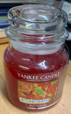 Yankee Candle AUTUMN LEAVES Medium Jar Candle 14.5oz NEW!!!!