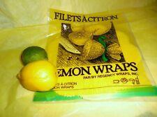 Regency Lemon Wraps Gourmet Kitchen Chef