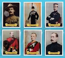 JF SPORTING COLLECTIBLES  -  SET  OF  XL  24  BOER  WAR  OFFICERS  -  2011
