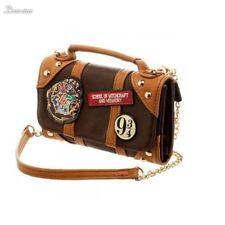 Harry Potter Hogwarts PU Hybrid Bag Crossbody Wallet Clutch purse Girl Women
