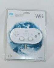 OFFICIAL Nintendo Wii Wired Classic Controller gamepad White RVL-005 NEW SEALED