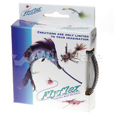 "Jan0.38Cb - Flyflex Pack, 3/8"" Black/Clear Pet"