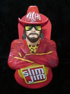Macho Man Randy Savage Slim Jim Display Holder - Wall Hanging