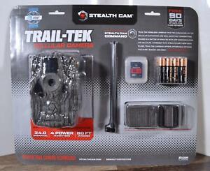 New Stealth Cam Trail-Tek Cellular Camera AT&T Network Certified 80 FT IR Range