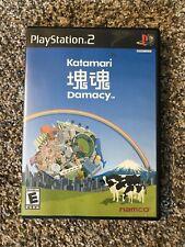Katamari Damacy (Sony PlayStation 2, 2004)  PS2 Complete CIB Black Label Manual