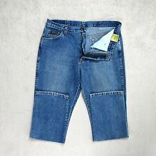 Mens WRANGLER Texas Jeans Original fit Straight Leg blue denim Size W36 L32