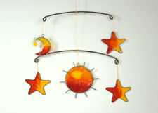 Sun, Moon & Stars Suncatcher, window, ceiling ornament, garden, Celestial mobile