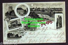 116789 AK Priebus 1900 Przewóz Hungerturm Gasthof Stadt Belin Bahnhof Rathaus Ki