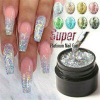 Nail Art Glitter Powder Dust UV Gel Acrylic Powder Sequins 3D Christmas Manicure