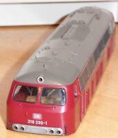 Fleischmann 4238 - 00104238 Lokgehäuse Diesellok BR 218 230-1 DB Ep.4 Neu