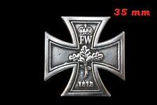Réduction Croix de Fer Allemande 1813  ( Fixation type pin's )