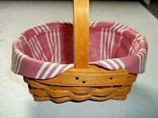 Longaberger Horizon of Hope Basket Liner Protector Tie On 1999 Acs - New -